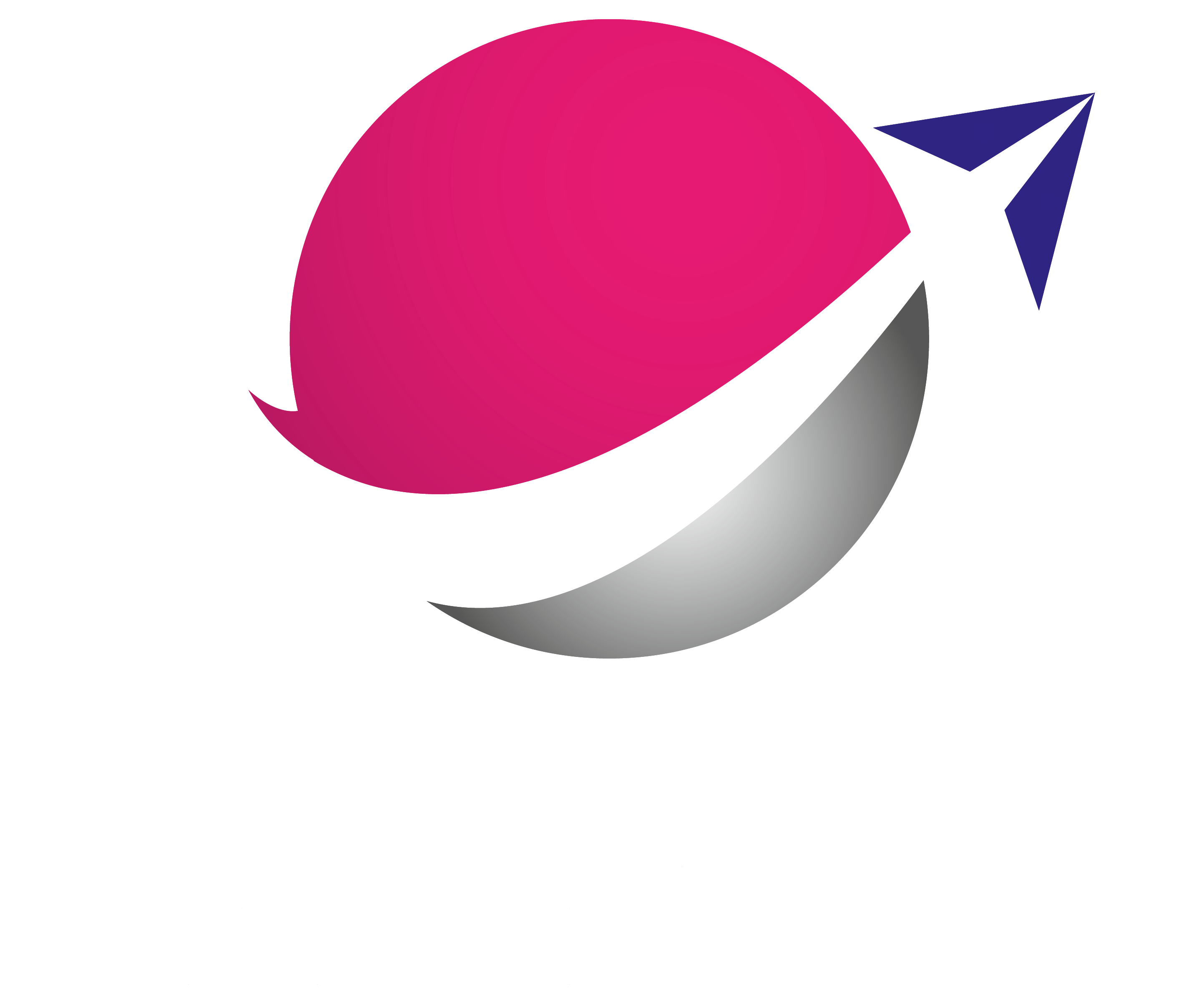 COSMOS TRAVEL LOGO-WHITE